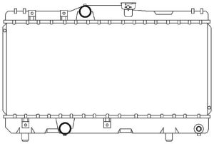 Auto Radiator (1436)