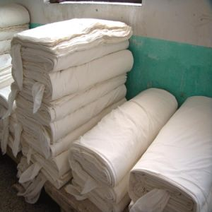 "T/C52/48 40*40 110*87 116"" Plain Grey Fabrics for Bedding"