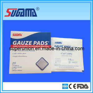 Strile Gauze Swabs One PC One Pouch pictures & photos