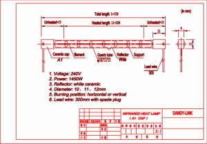 C Type Twin Tube Infrared Heating Tube pictures & photos