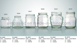 Glass Food Bottle (6 Items) pictures & photos