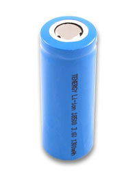 18500 Battery, Cylindrical Battery, Li-ion Battery, 3.7V1550mAh Battery