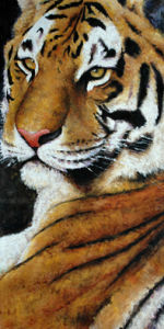 Oil Painting Animal (A020)