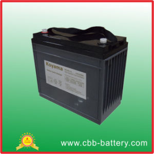 100ah 12V Deep Cycle Storage Battery for Electric Vehicle pictures & photos