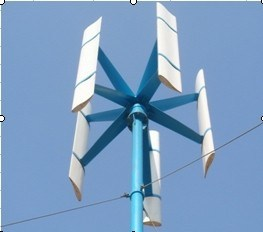 20kw Vertical Axis Wind Turbine/Wind Generator pictures & photos