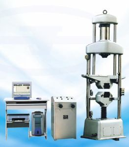 Hydraulic Universal Testing Machine WEW-300A in steel factory pictures & photos