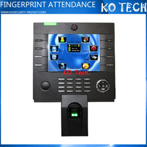 Touch Screen with Keyboard Time Clock and Control Equipment Clock 3800