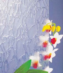 Clear Morgon Patterned Glass