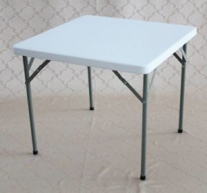 Plastic Dinner Square Folding Table (SY-87F) pictures & photos
