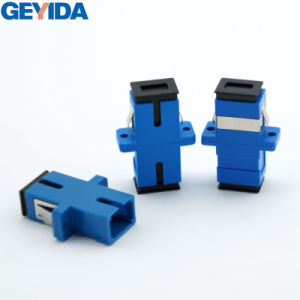 Sc-Upc Adapter /Fiber Optic Adapter Simplex pictures & photos