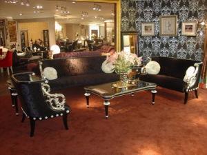 Carved Living Room/Reception Room Sofa Furniture (A10185)