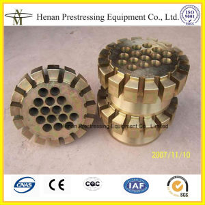 Post Tension Anchorage Coupler for Bonded Post-Tensioning System pictures & photos