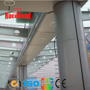 Glossy Lemon Yellow Aluminum Composite Panel ACP (RCB2013-N40) pictures & photos