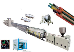 PE Pipe Making Machine Extrusion Line pictures & photos