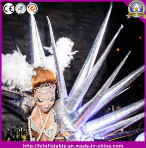Crazy Inflatable Silver Performance Costume Star for Stage Party Club Decoration pictures & photos