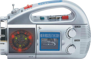Professional Multi-Function Portable Radio Cassette Recorder Player With Torch (AY-2118DL)