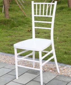 White Resin Chiavari Chair (ZJY001W) pictures & photos