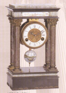 Marble and Bronze Clock (ST54) pictures & photos