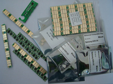 Toner Chips for HP CF400A CF410A, CF226A, Ink Chips for HP951X, 971X,
