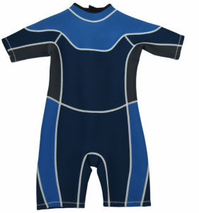 Manufacture Kids Water Aerobics Freediving Durable Elastic Surfing Suit pictures & photos