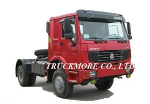 HOWO 4X4 All Wheel Drive Tractor (ZZ4187N3727)