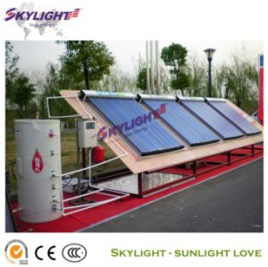 Split Heat Pipe Solar Water Heater System (SLCLS)
