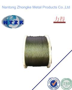 Steel Wire Rope for Derricking with Heavy Grease pictures & photos