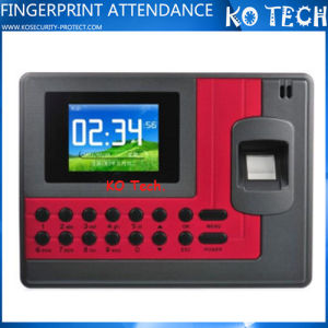 Ko-C110 Fingerprint Time Attendance Clock ID Card+USB 200MHz CPU