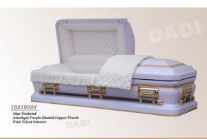 American Style Metal Casket (16319038) pictures & photos