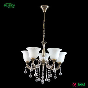 Vintage White Glass Crystal Chandelier Lighting for Hotel pictures & photos
