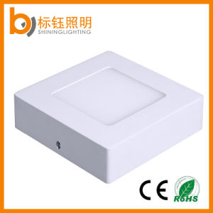 Surface Mounted Drop Ceiling Lighting Square SMD Light LED Panel Lamp 6W pictures & photos