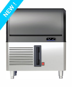 Hot Sell Cube Ice Maker Ice Machine with Stainless Steel Design for Bar for Restaurant pictures & photos