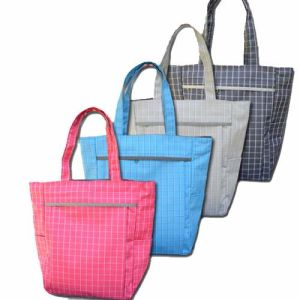 Nylon Handle Shopping Bag (MS8013) pictures & photos