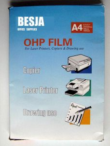 Ohp Film (BJ-8050) pictures & photos