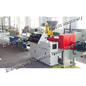 PVC Cable Trunking Extrusion Line (SJSZ51/105 Extruder)