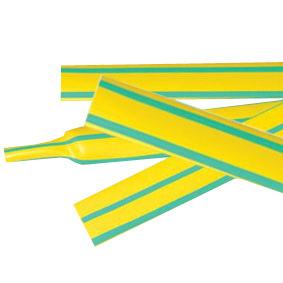 Heat Shrinkable Tubes Yellow/Green