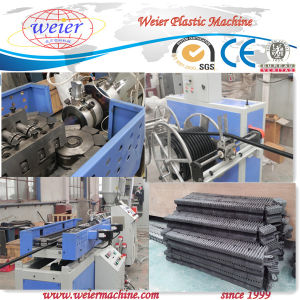 Single Screw Extruder Plastic Corrugation Pipe Extrusion Line pictures & photos