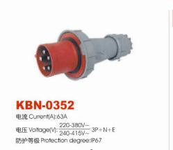 Industrial Plugs and Sockets KBN-0352