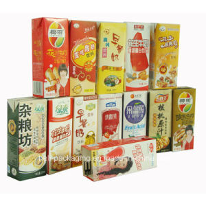 Milk and Juice Packaging Laminated Paper Carton Box pictures & photos