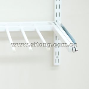 CPR Metal Wardrobe Trousers Rack with Powder Coated and Satin Nickel Surface Treatment DIY (CPR-1) pictures & photos