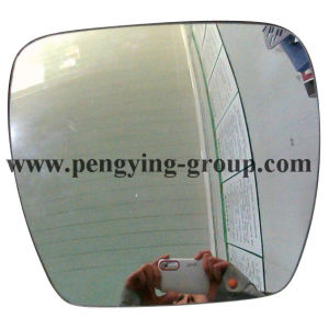 1.8mm, 2mm Aluminum, Chrom&Blue Coating 305*407mm Convex Mirror Glass