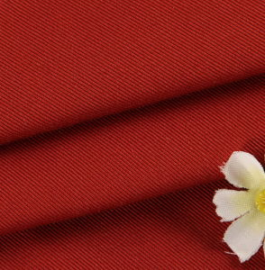 Cotton Spandex Lycra Stretch Twill Fabric pictures & photos