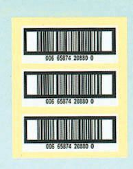 Bar Code Printing Sticker (BAR CODE)
