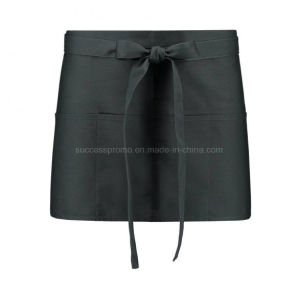 Waiter′s Small Apron 60X35cm Dark Grey pictures & photos