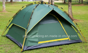Fantastic Double-Skin Automatic Camping Tent for 3 - 4 Persons (JX-CT031-1) pictures & photos