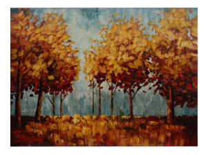 Bright Color Abstract Tree Landscape Oil Painting Decorative Wall (LH-070000) pictures & photos