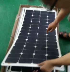 18V 50W ETFE Soft flexible Sunpower Solar Panel pictures & photos