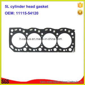 Iron 5L 11115-54120 Cylinder Head Gasket Engine Gasket Kit for Toyota