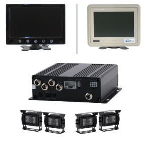 4CH H. 264 Realtime 3G Mobile Mini Hard Disk Car Video DVR System with GPS Function pictures & photos