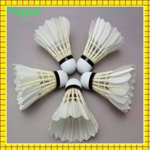 Cheap Water Duck Feather Badminton for Promotion (GC-PT002) pictures & photos